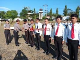 32 Anggota Polres Lampung Utara Dapat Penghargaan