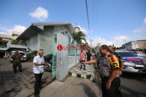 350 Personel Gabungan Diturunkan untuk Menjamin Keamanan Jemaat Dalam Beribadah