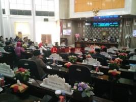 36 Anggota DPRD Way Kanan Hadiri Rapat Paripurna Dengarkan Pidato Kenegaraan