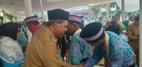 385 Jemaah Calon Haji Kloter 37 Lamteng Berangkat Hari Ini