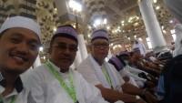 388 Jemaah Calon Haji Yang Diberangkatkan Semalam Telah Tiba di Tanah Suci