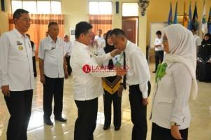40 Pejabat Eselon III Pemkab Lamtim Ikuti Diklatpim IV