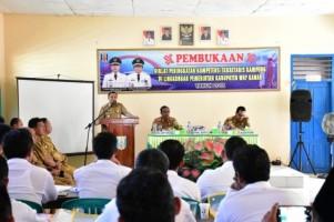 40 Sekretaris Kampung di Way Kanan Ikuti Diklat Peningkatan Kompetensi