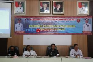 45 Utusan OPD Lambar Ikuti Pembinaan Tata Kelola Statistik Sektoral