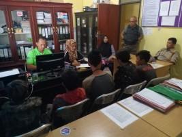 5 Gelandangan Anak Asal OKU Diamankan Satpol PP