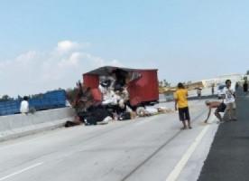 5 Titik Rawan Kecelakaan Lalu Lintas di Jalan Tol