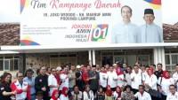 50 Organ Relawan Jokowi - Amin Lampung Siap Bergerak Menang