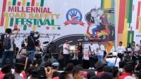 60 Ribu Pemuda Hadiri Millennial Road Safety Festivalyang Digagas Polri