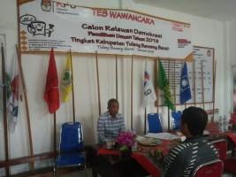 55 Relawan Demokrasi Tubaba Ditetapkan, 10 Basis Pemilih jadi Sasaran