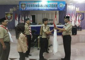 57 Pramuka Ikuti Pertikawan Regional Sumatera