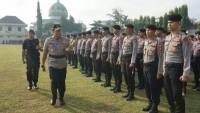 600 Personel Polda Lampung Selesai BKO Sidang Pilpres