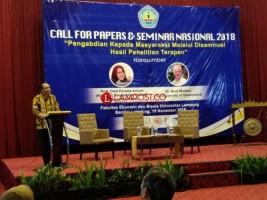 67 Artikel Dipaparkan Pada Seminar Nasional FEB Unila