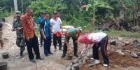 7 Rumah Tidak Layak Huni di Sukaraja dapat Bantuan Bedah Rumah