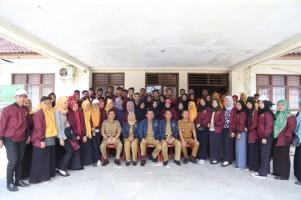 750 Mahasiswa IAIN Metro Kuliah Pengabdian di Pesisir Barat