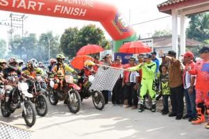 757 Peserta Ikut Trail Adventure Lampung di Lamtim