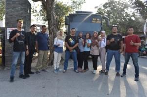 8 Anggota Polda Lampung Ikuti Kekuatan Taekwondo Kapolri Cup