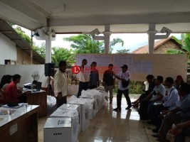 8 Kecamatan Rampungkan Rekapitulasi di PPK Tuba