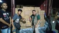 Delapan Petugas Polres Way Kanan Disiagakan Jaga Gudang KPU
