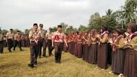 900 Siswa Peringati Hari Pramuka di Kecamatan Katibung