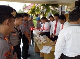 94 Personel Polres Tuba Jalani Tes Urine Dadakan
