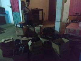 95 Paket Sembako Tidak Bertuan diamankan Panwascam Lambu Kibang