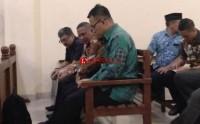 ABN dan Anjar Asmara Tiba di Pengadilan
