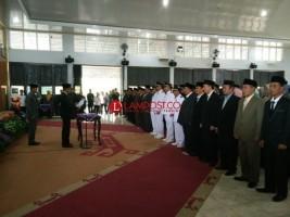 Adipati Lantik 93 Pejabat di Lingkup Pemkab Way Kanan