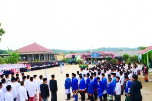 Adipati Pimpin Peringatan Hari Santri Nasional
