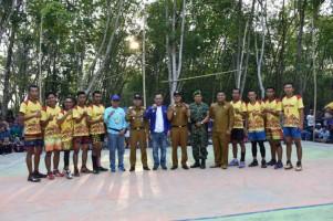 Adipati Tutup Turnamen Bola Volly Bupati Cup