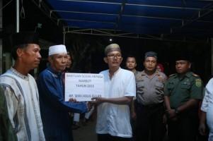 Agus Istiqlal Kembali Salurkan Bantuan Korban Longsor Pekon Tanjung Sakti