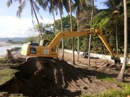 Agus Istiqlal Tinjau Pembangunan Jalan Menuju Objek Wisata Gua Matu