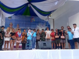 Agus Istiqlal Tutup Kejuaraan Surfing Pro Krui 2019