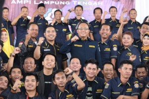 Agus Suwandi Pimpin AMPI Lamteng