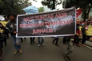 AJI Jakarta Kecam Intimidasi Polisi kepada Jurnalis
