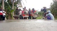 Akhirnya Jalan Lingkungan Dusun Malang Dibangun