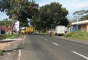 Akses Menuju Gerbang JTTS Kalianda Minim Rambu Lalu Lintas