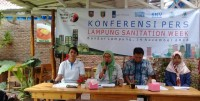 Akses Sanitasi 4 Kabupaten di Lampung Masih Rendah
