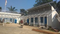 Aktivitas Renovasi Gedung Kantor BPP Bandar Lampung Terhenti