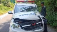 Alami Lakalantas, 1 Penumpang Ambulans Pekon Padanghaluan Tewas