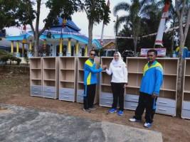 Alumni SMAN 1 Sidomulyo Berikan Bantuan Pojok Buku Sebagai Bentuk Kepedulian