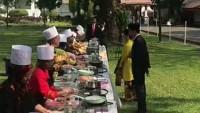 Alumni SMKN 3 Bandar Lampung Memasak Dihadapan Presiden RI