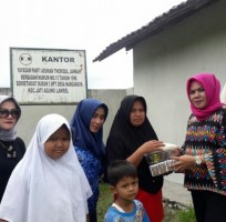 Alumni SMP 2 Bandar Lampung Angkatan 82 Salurkan Bantuan ke Panti Asuhan