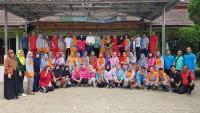 Alumni SMPN Sumurbatu Angkatan 1992 Gelar Reuni dan Santunan
