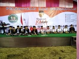 Alunan Selawat Hibur Undangan Peresmian Rumah KMA Lampung