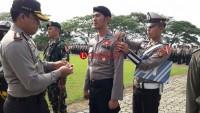 Amankan Pemilu, Polres Tanggamus Gelar Pasukan Operasi Mantab Brata 2018