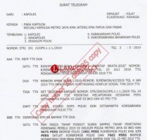 Amankan Penghitungan, 3 Kompi Samapta Polda Lampung ke Jakarta