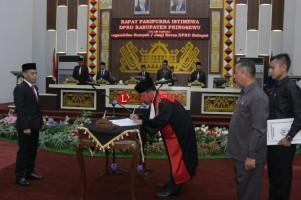 Aminallah Adisyanto Pimpin DPRD Pringsewu
