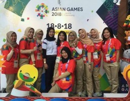 Amirah, Volunter Asian Games 2018 Asal Lampung Utara