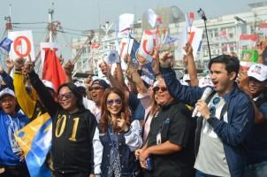 Anak Buah Kapal di Taiwan Deklarasi Menangkan Jokowi-Ma'ruf Amin
