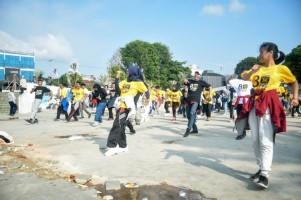 Anak Muda PKS Kampanye Kreatif dengan Flashmob